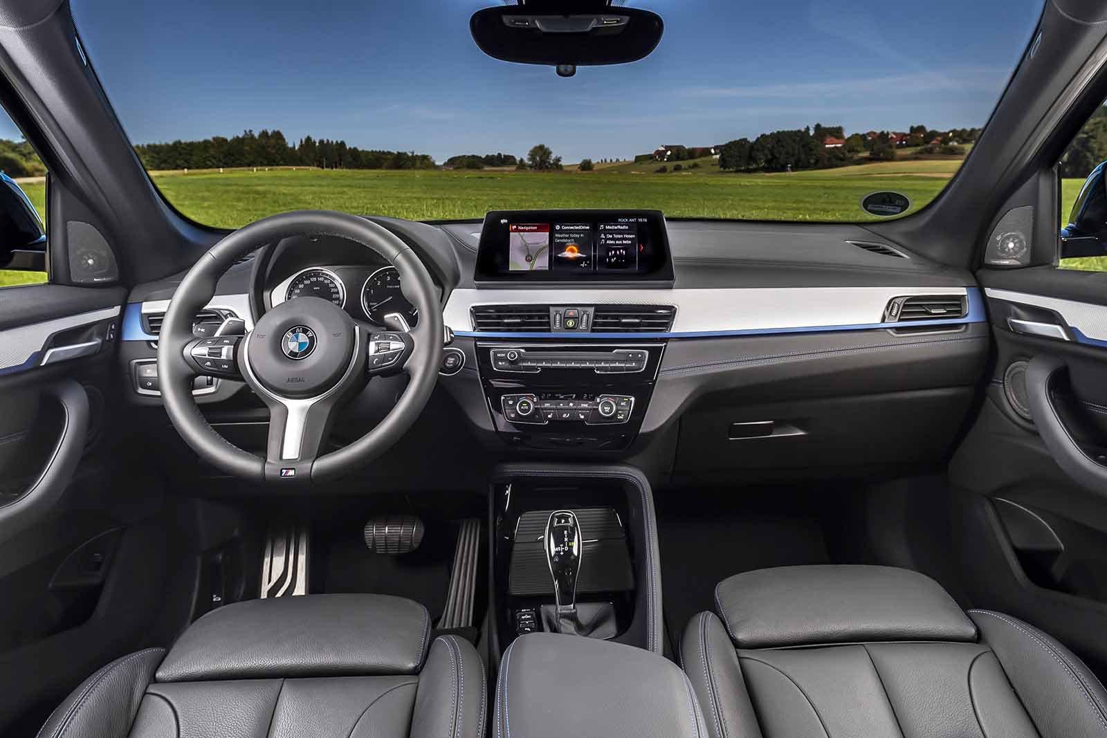 BMW X1 2019 LHD dashboard