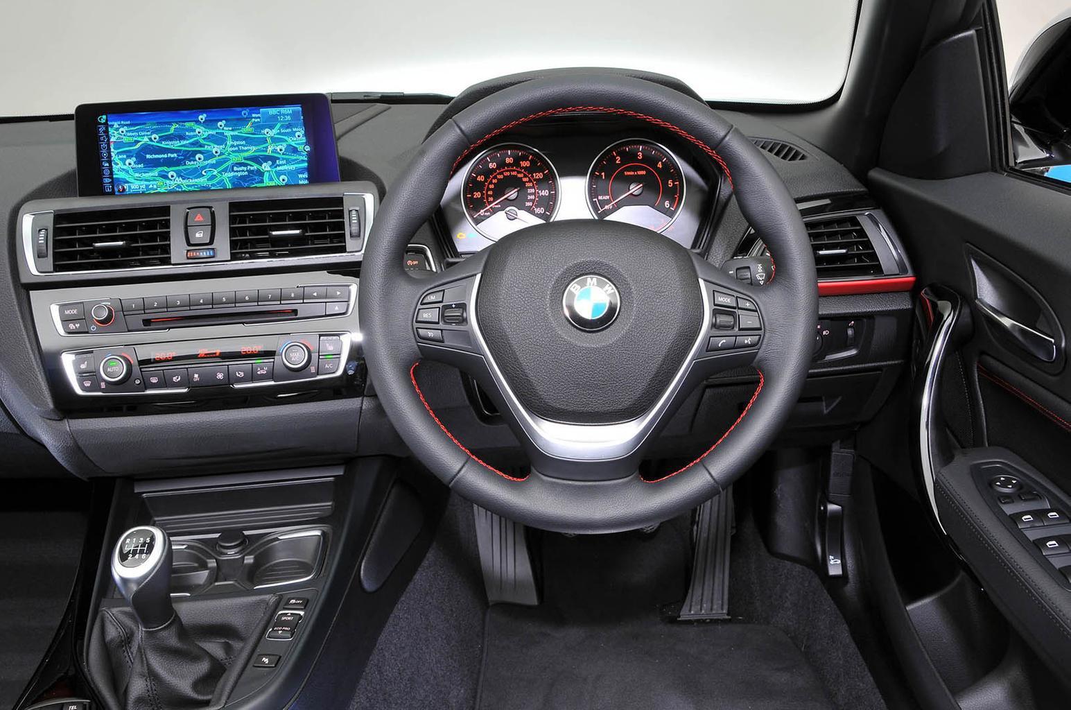 BMW 2 Series Convertible - interior