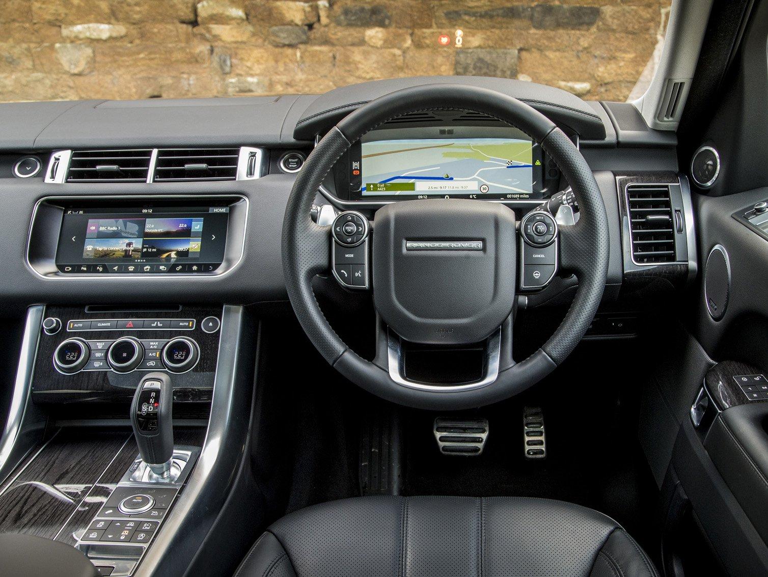 Land Rover Range Rover Sport - interior