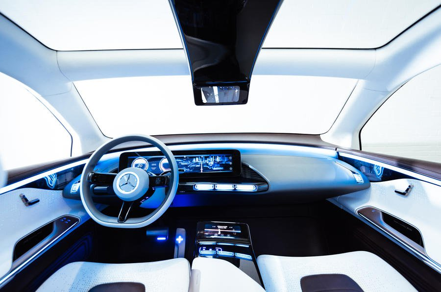 Mercedes Concept EQ interior