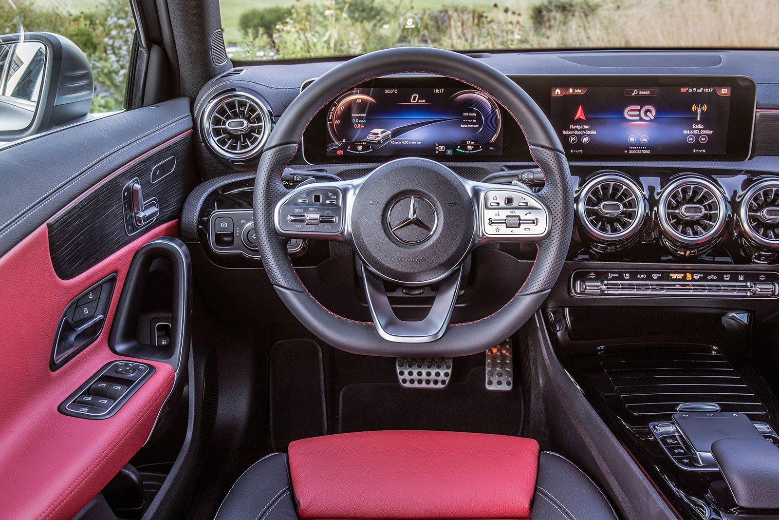 2019 mercedes a 250 e interior dashboard