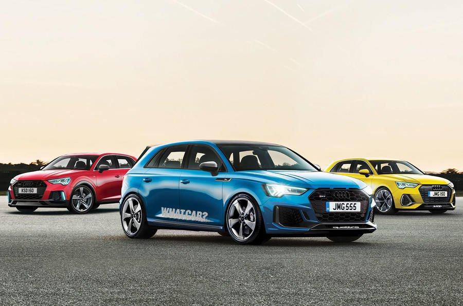 2020 Audi A3 renderings