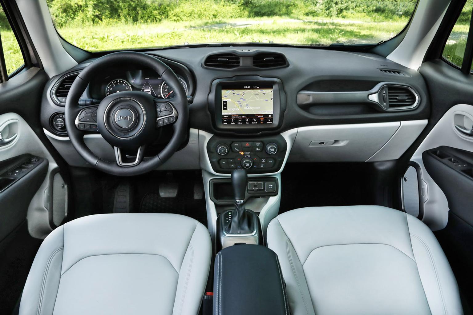 Jeep Renegade - interior