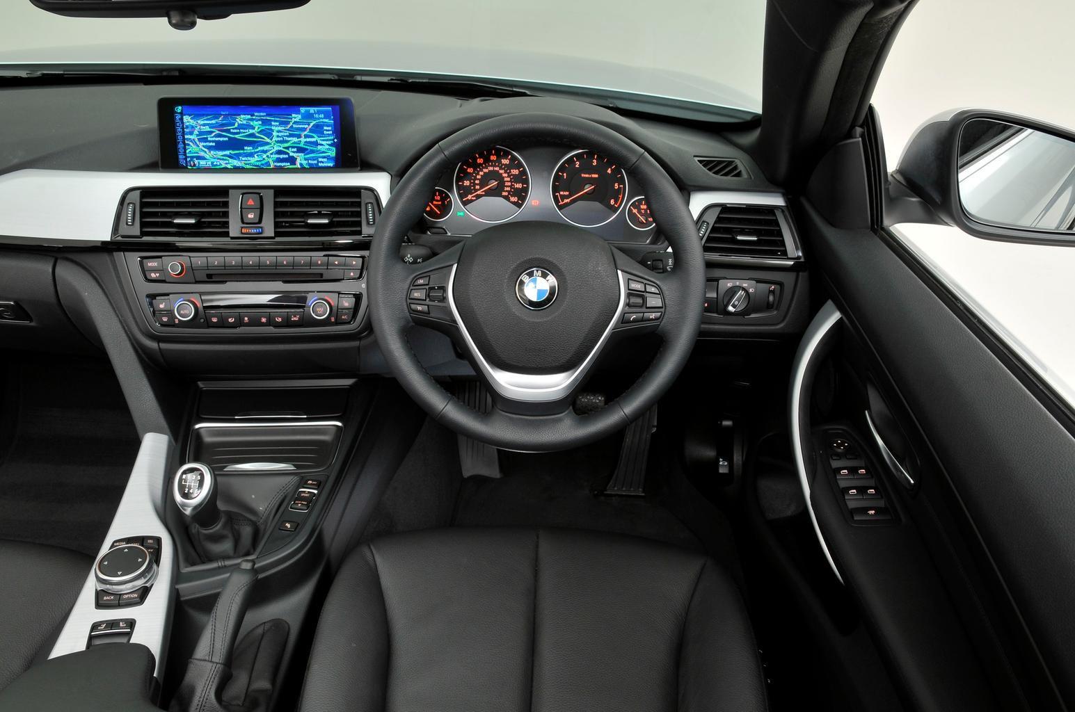 BMW 4 Series Convertible - interior