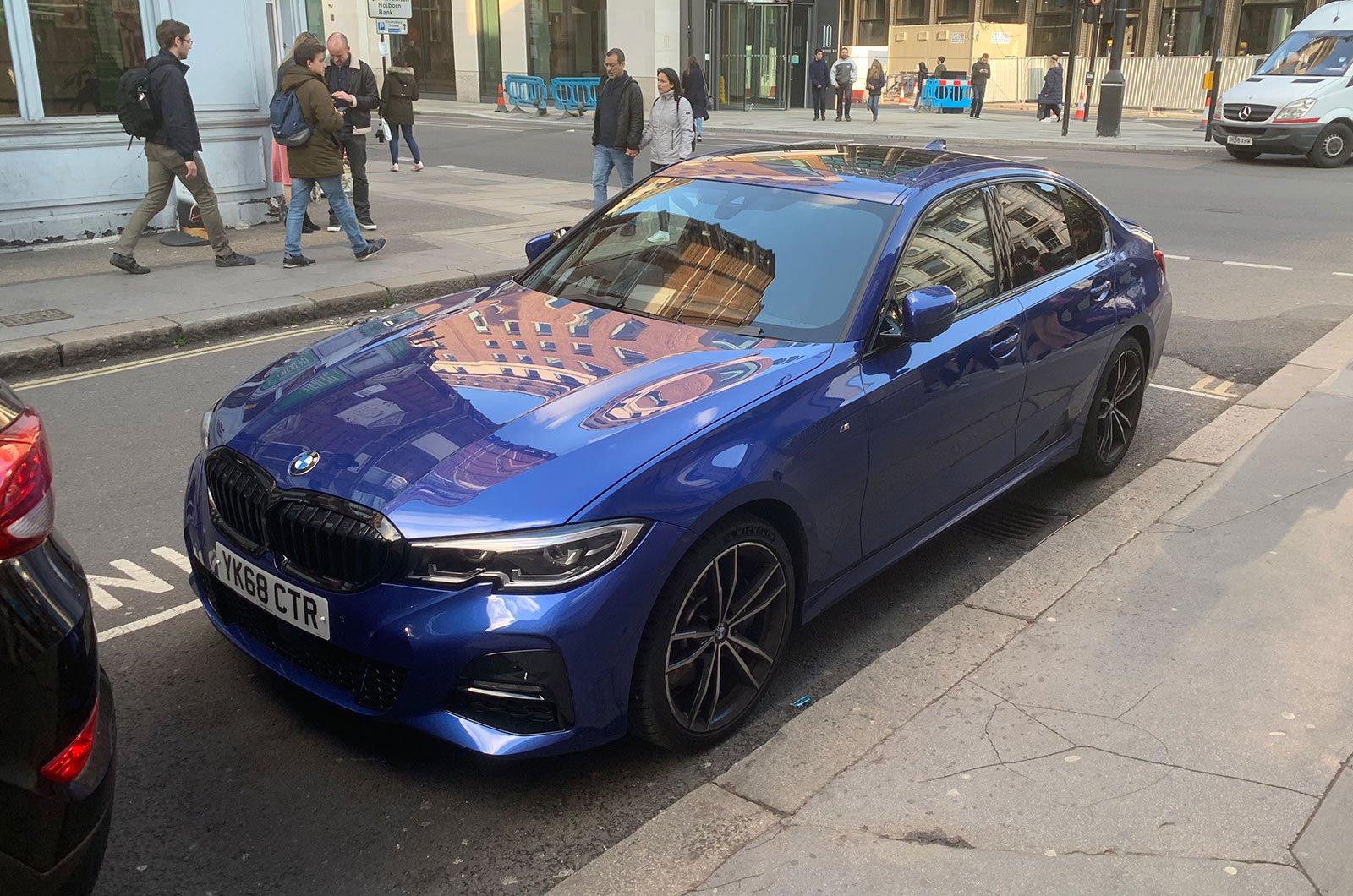 BMW 3 Series parked