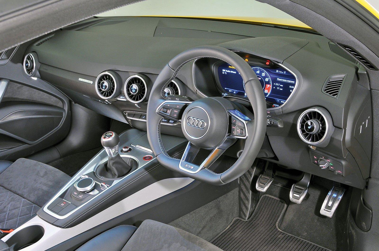 Audi TT (2014-present) - interior