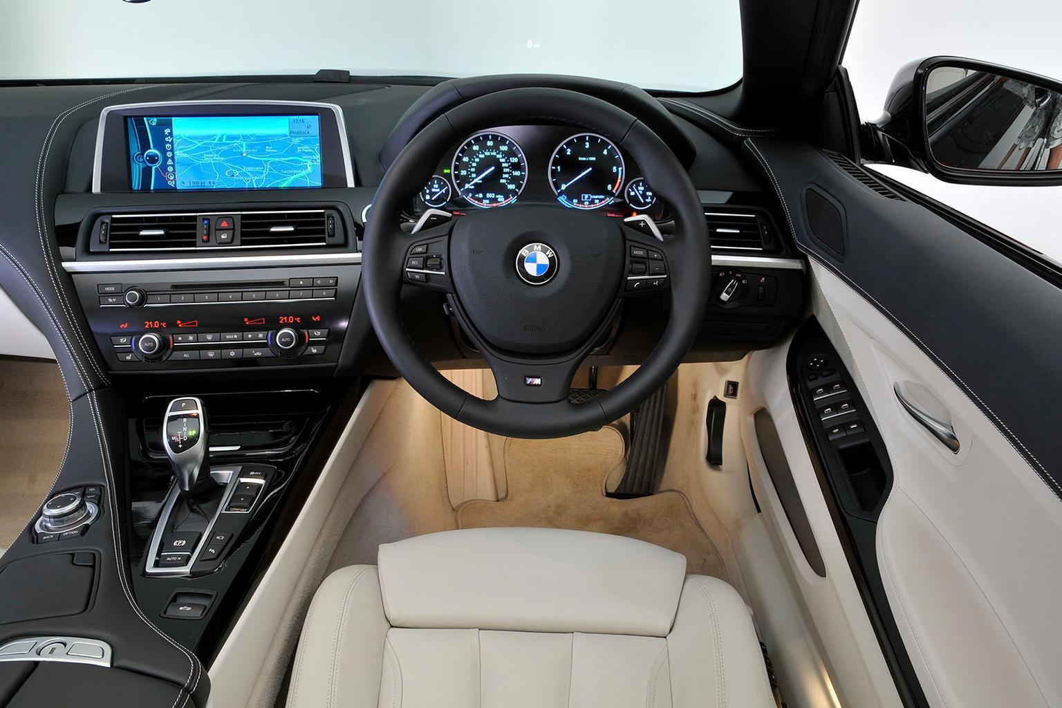 BMW 6 Series Convertible - interior