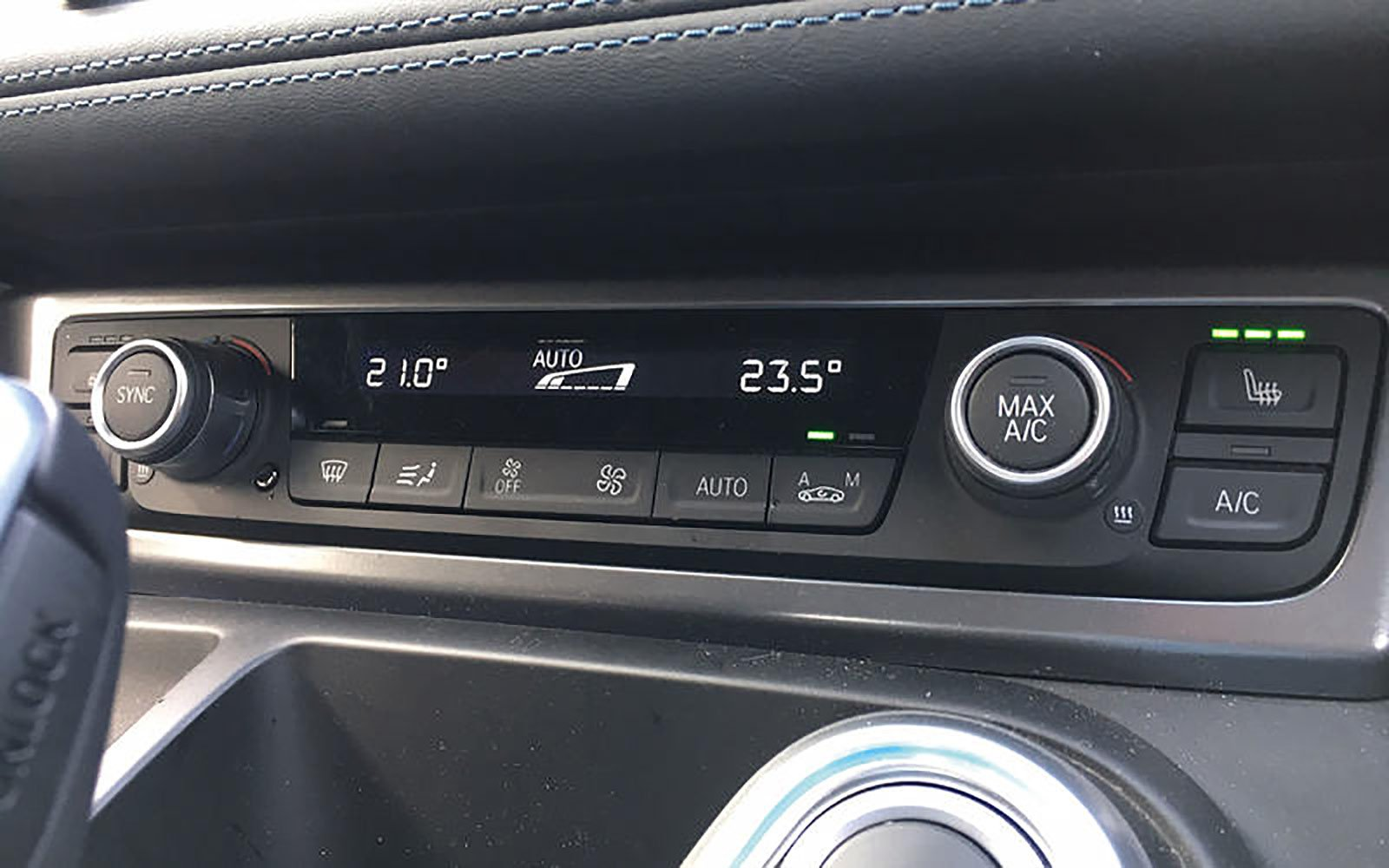 BMW air conditioning unit