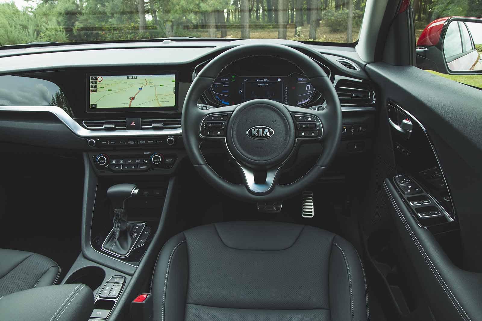 2019 Kia Niro 1.6 GDi Hybrid 2 DCT Auto - interior