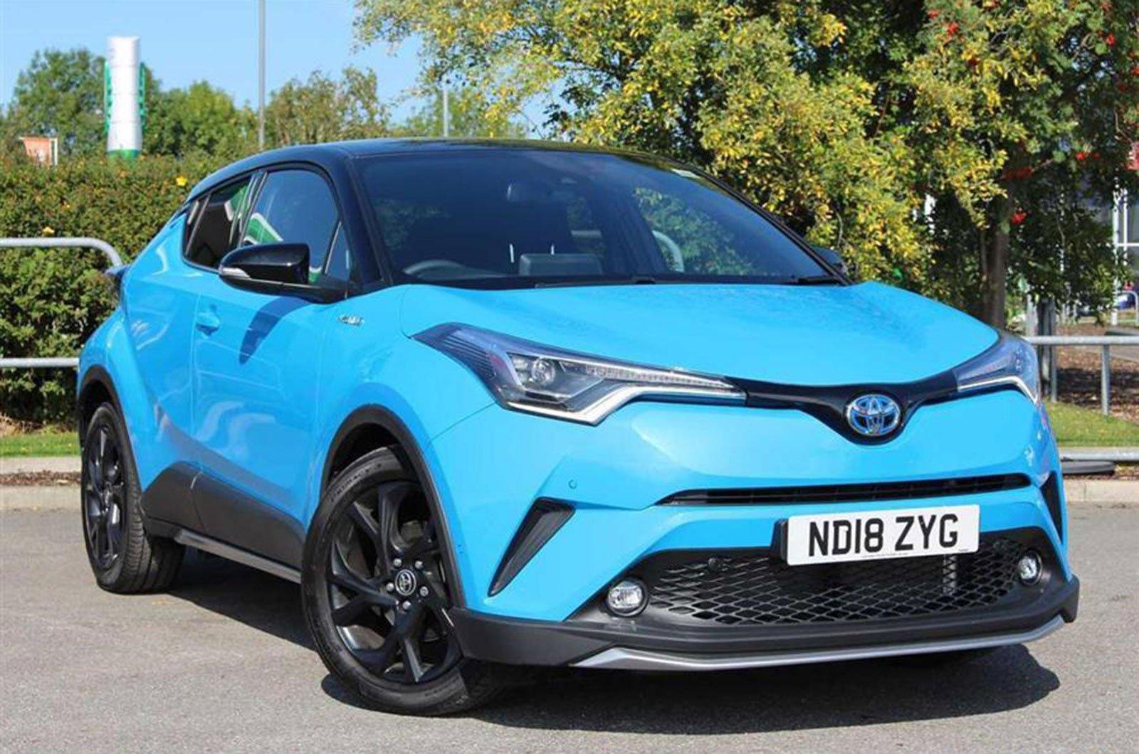 2019 Toyota C-HR 1.8 Hybrid Dynamic CVT Auto