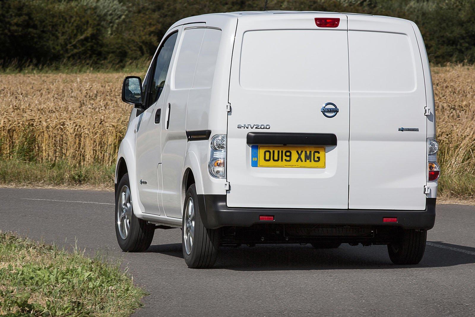 Nissan e-NV200 rear