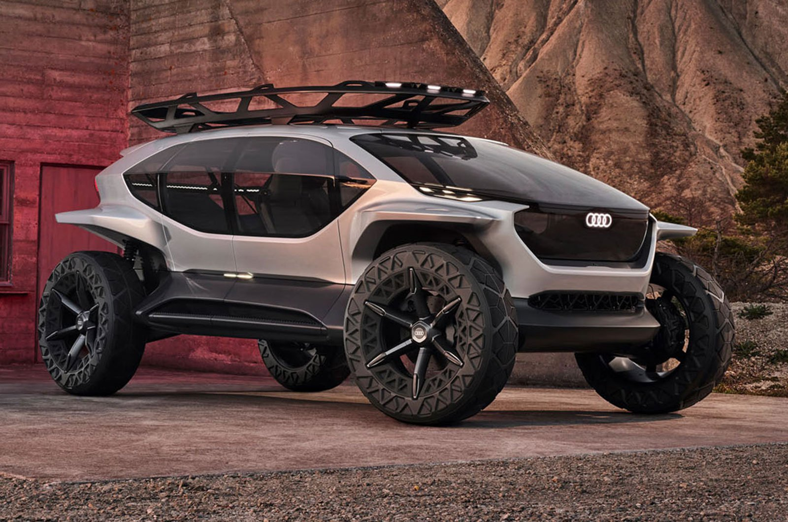 Audi AI:Trail concept front