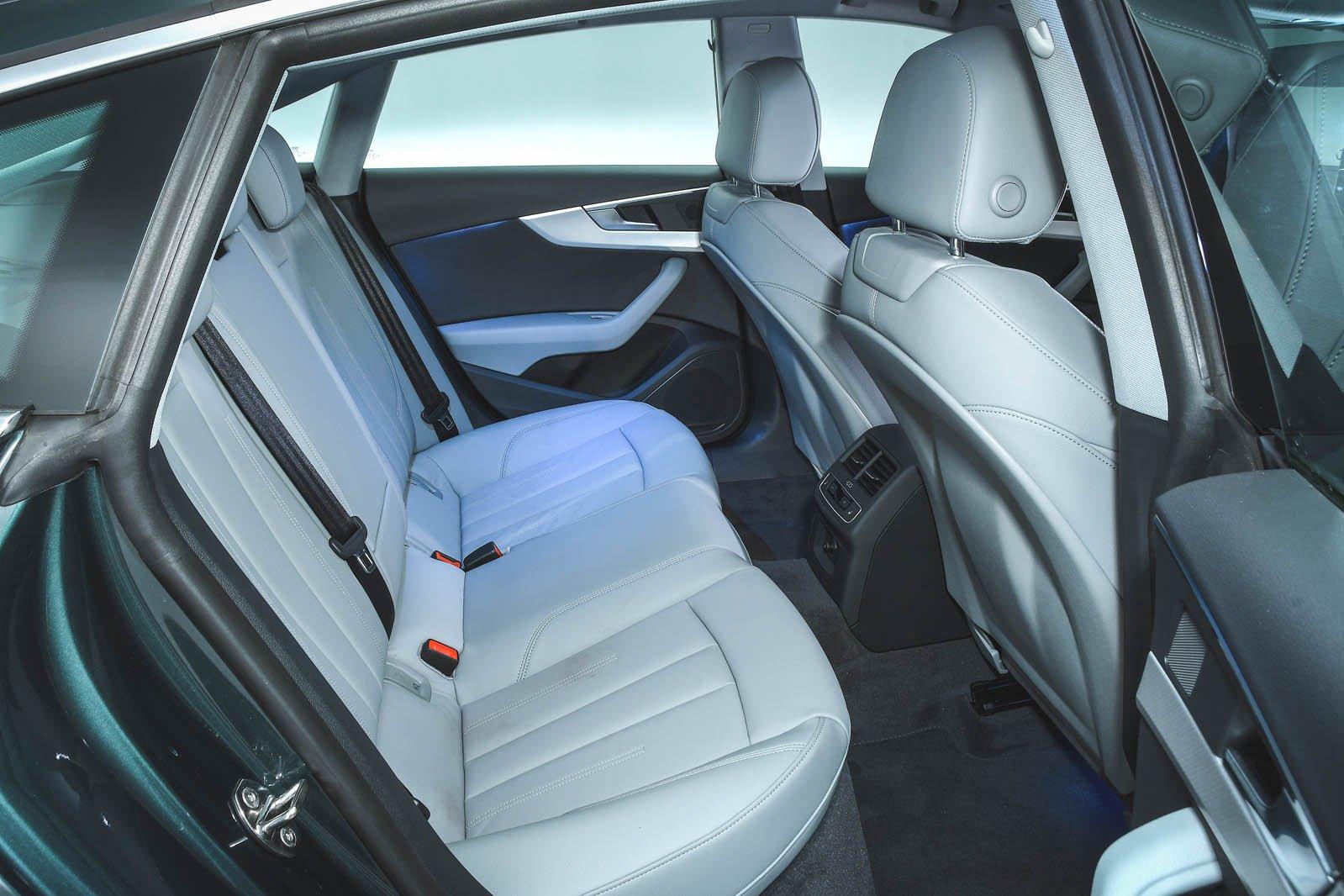 Audi A5 Sportback rear seats