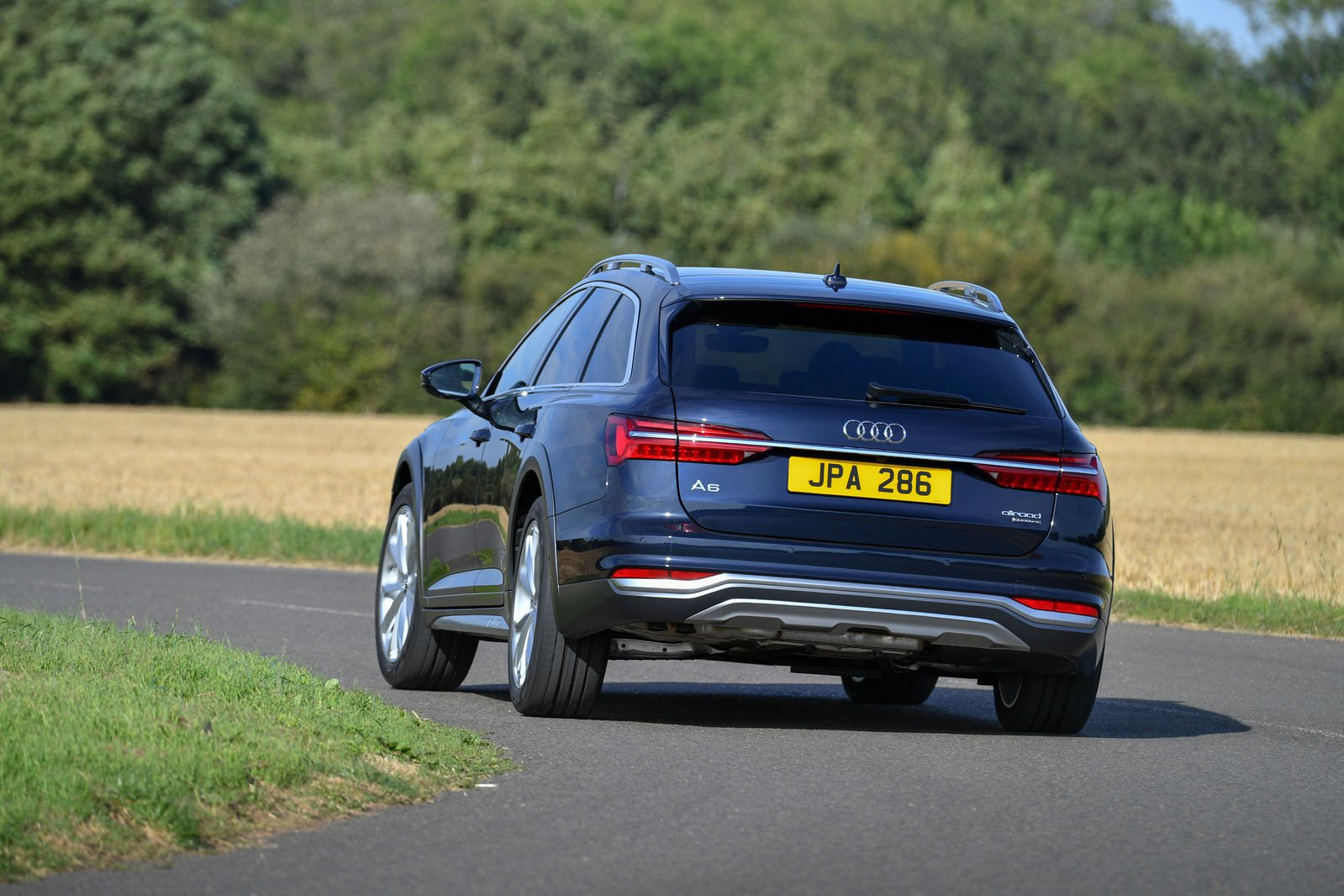 Audi Allroad 2019 RHD rear cornering