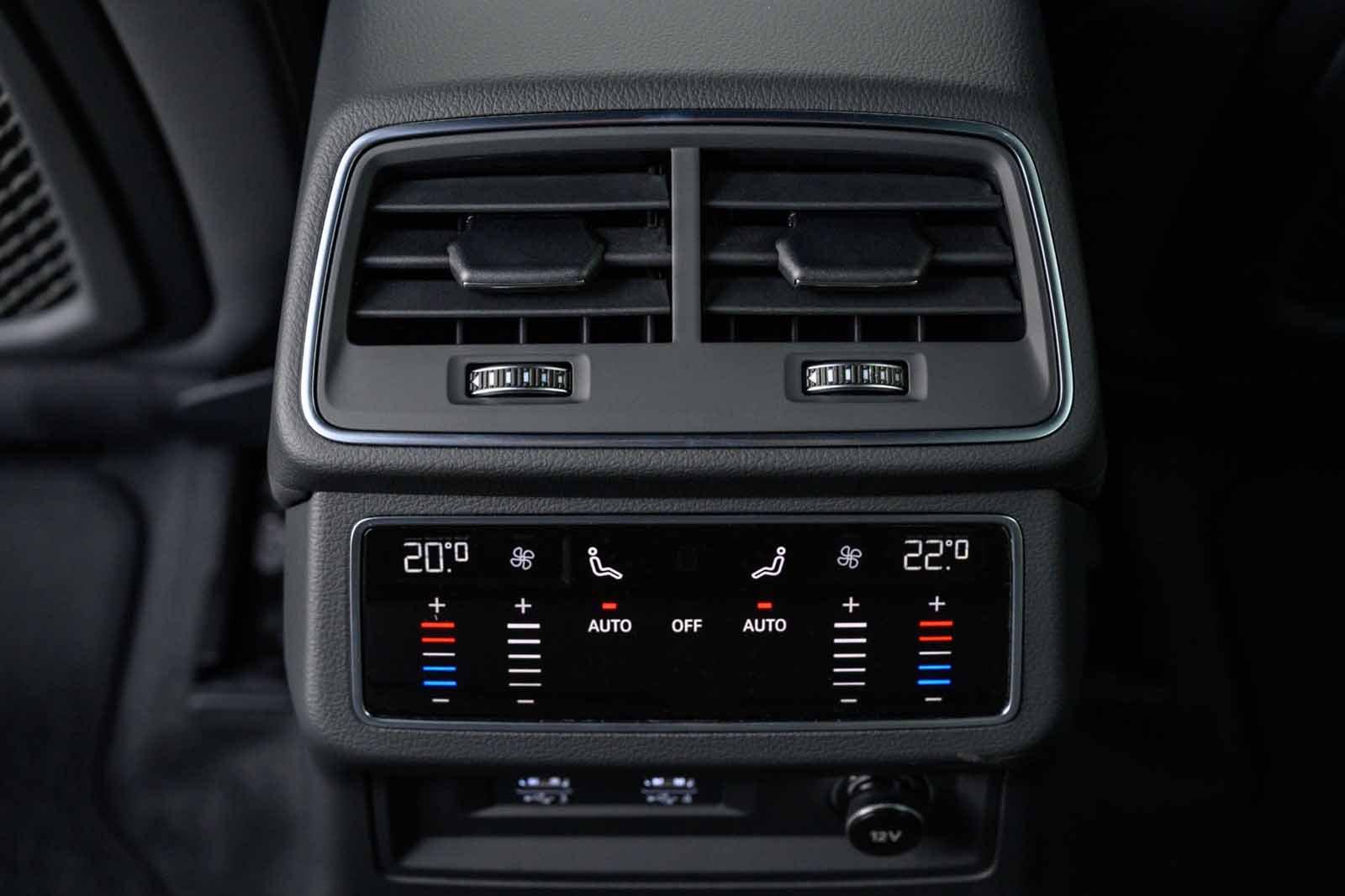 Audi Allroad 2019 RHD rear HVAC