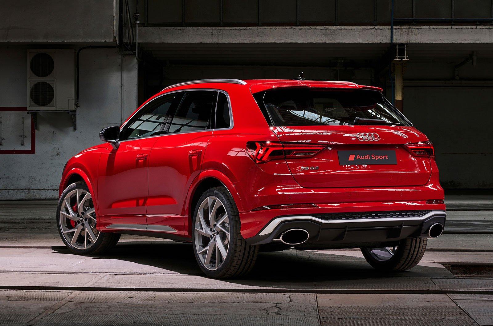 Audi RS Q3 rear