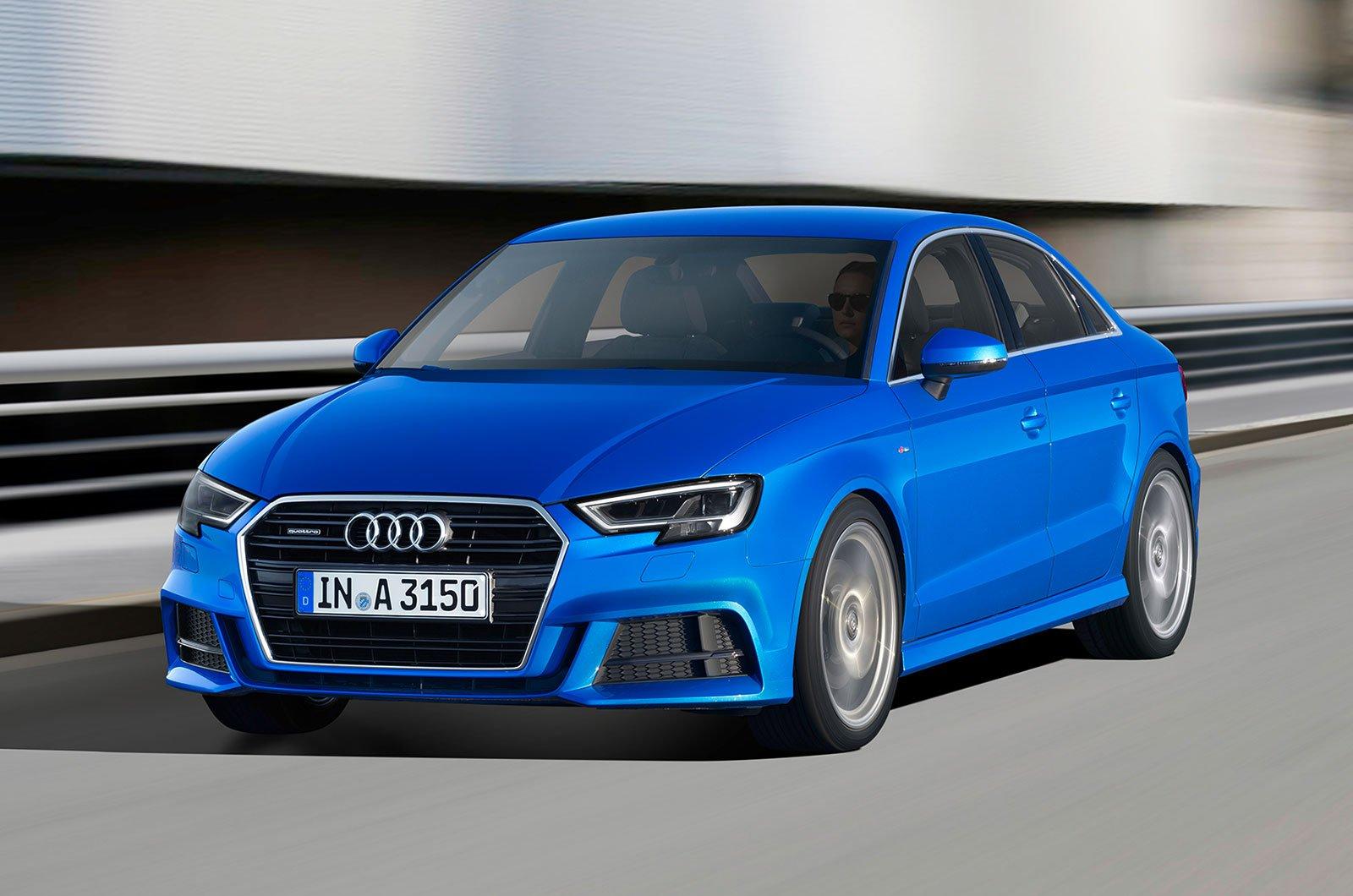 Audi A3 Saloon executive cars