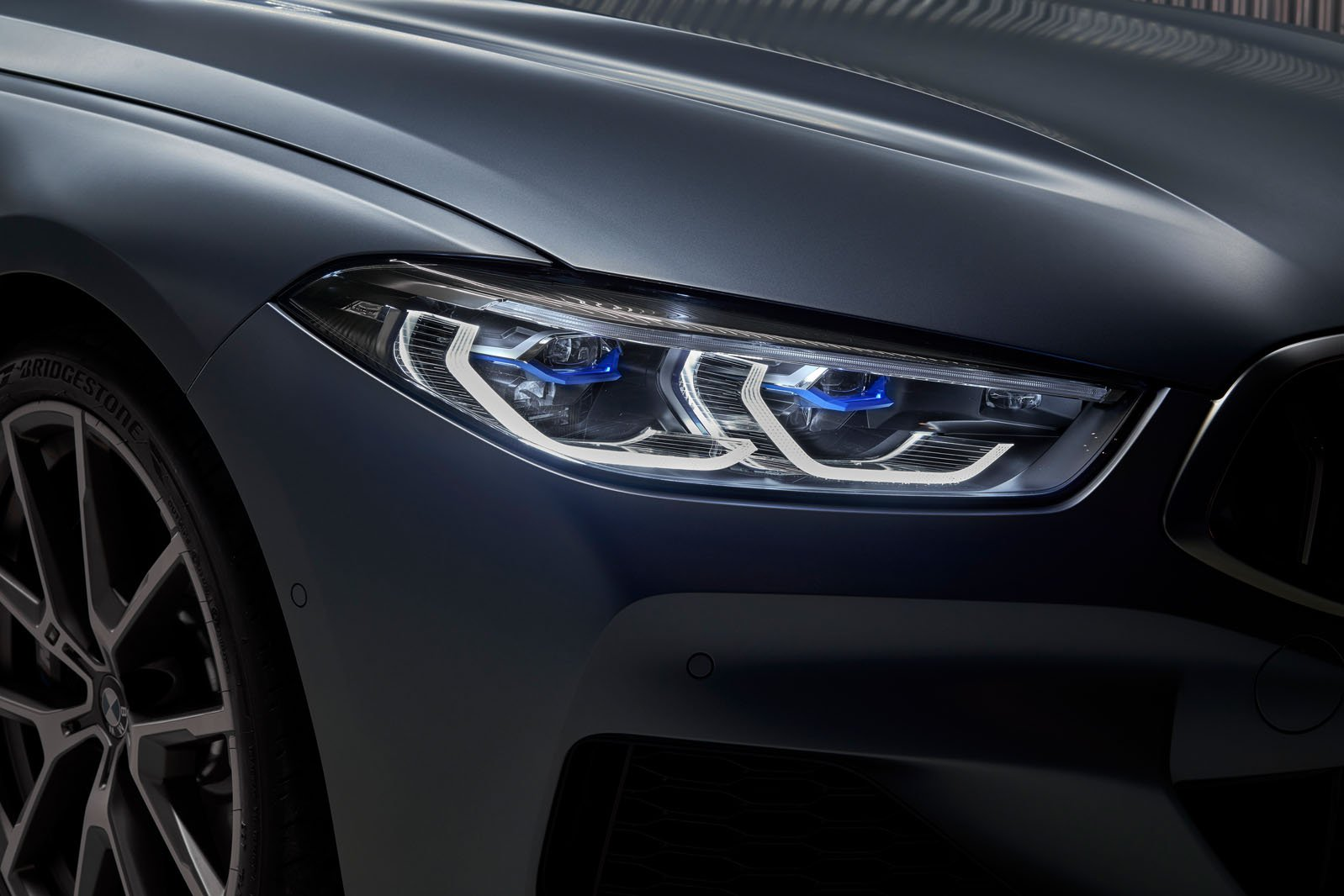 8 Series Gran Coupé 2019 LHD headlight detail