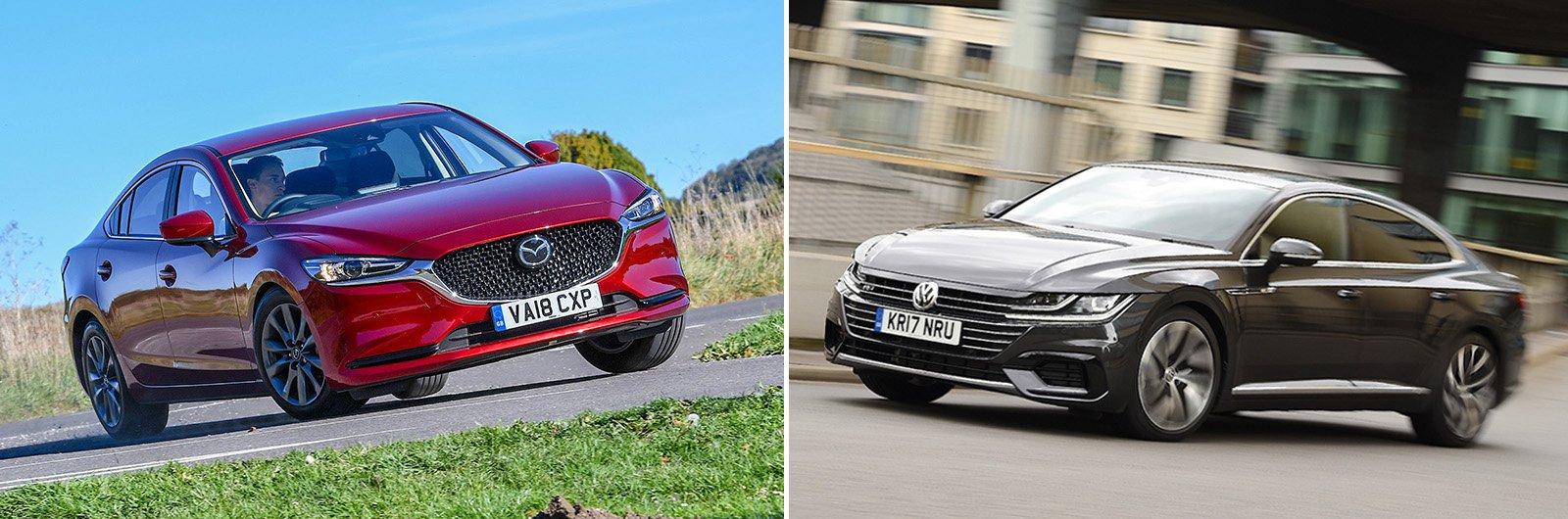 New Mazda 6 vs used Volkswagen Arteon: which is best?