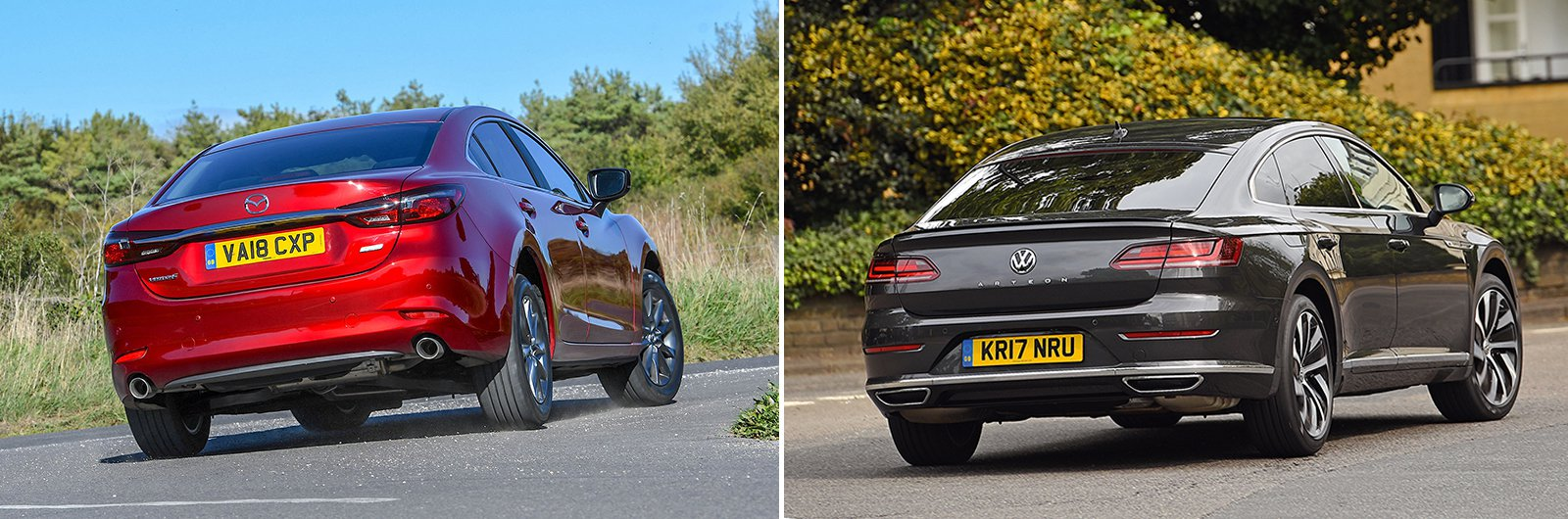 New Mazda 6 vs used Volkswagen Arteon: which is best?