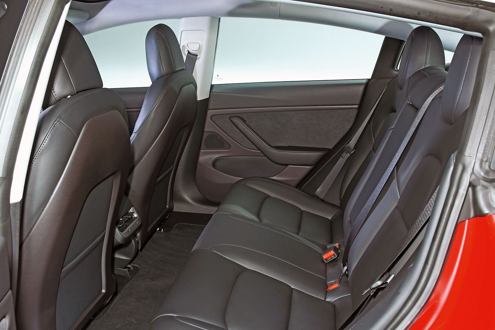 Tesla Model 3 rear seats