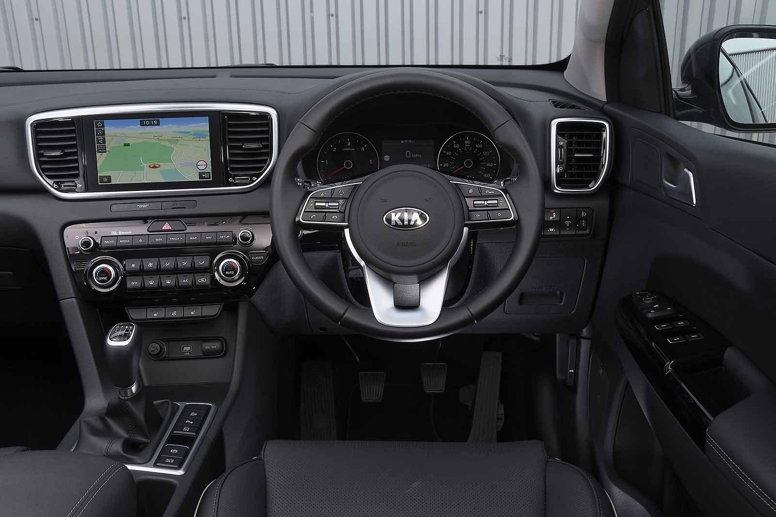 Kia Sportage 2019 RHD dashboard