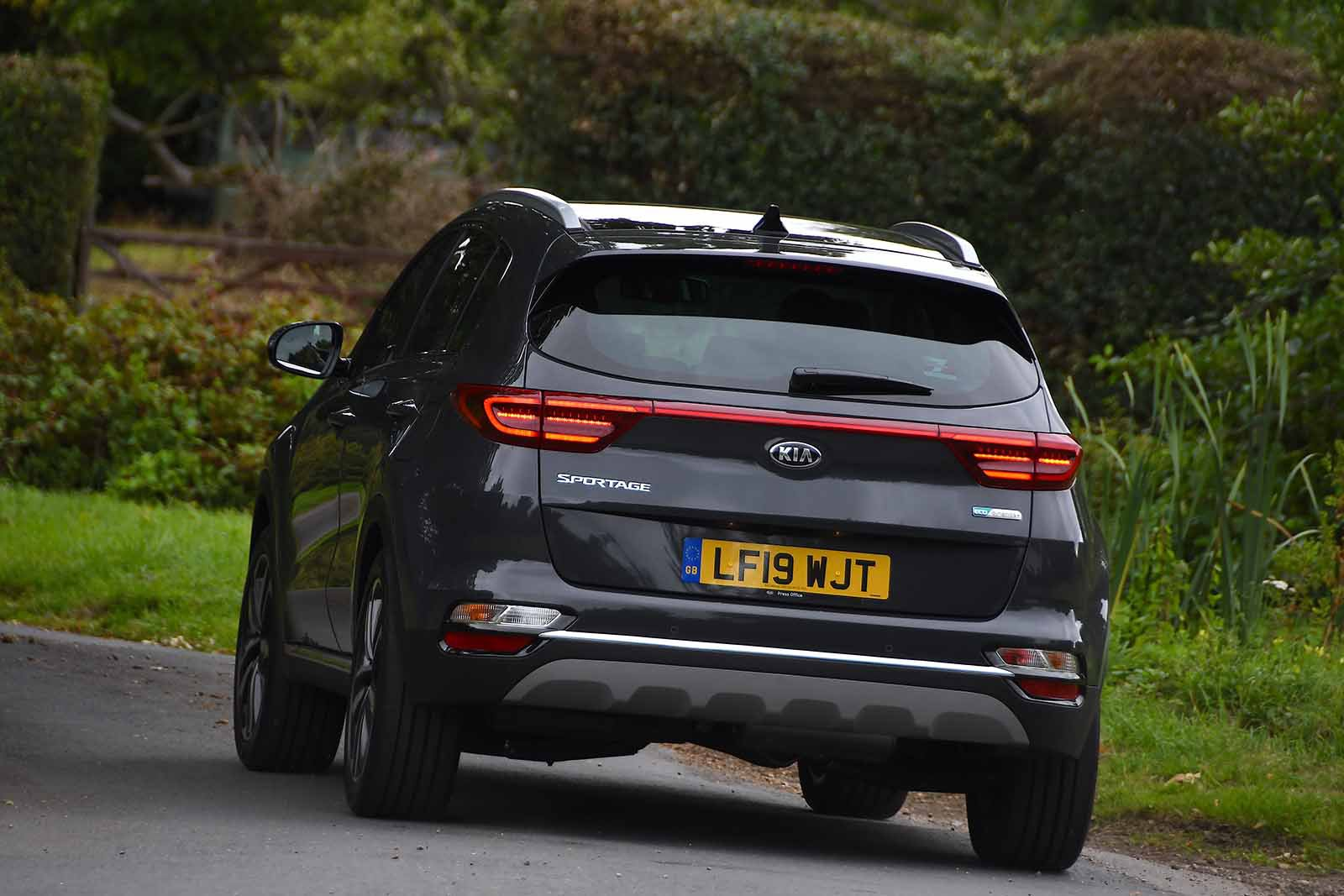 Kia Sportage 2019 rear cornering