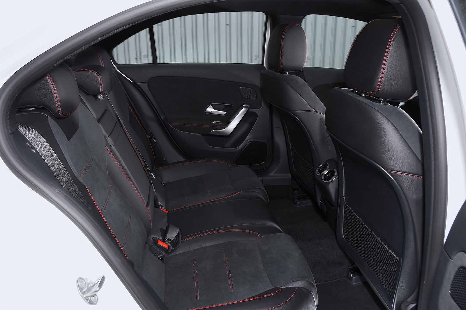 Mercedes A Class Saloon 2019 RHD rear seats