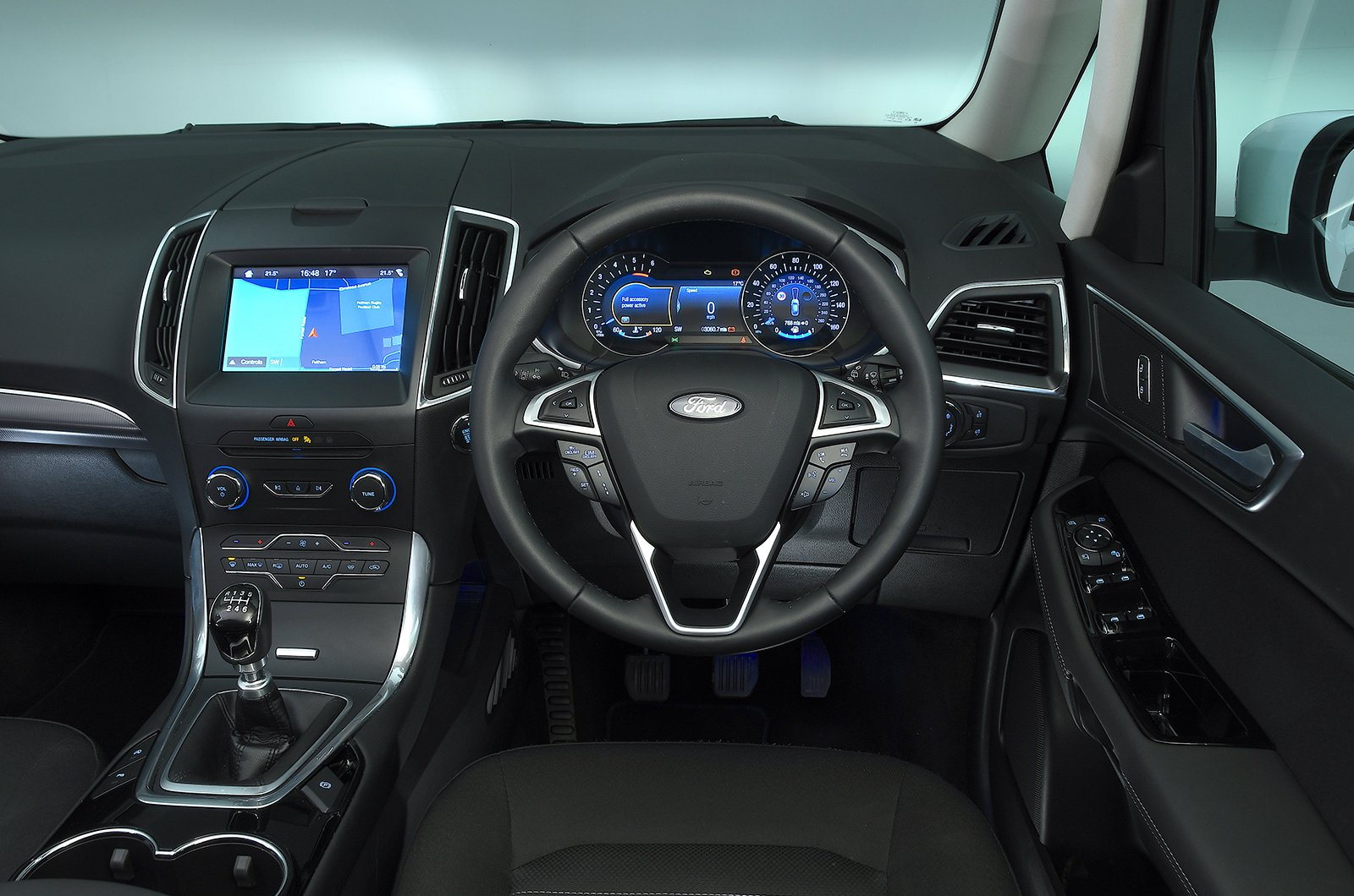 Used Ford Galaxy interior