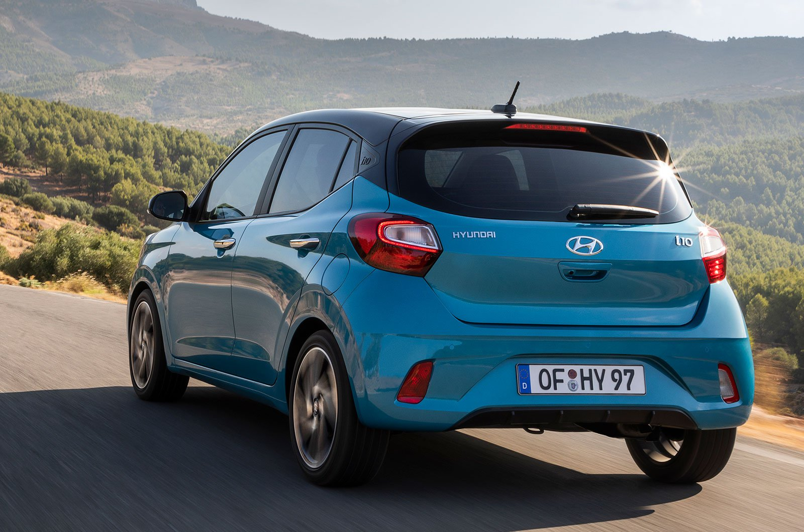 2020 Hyundai i10 rear