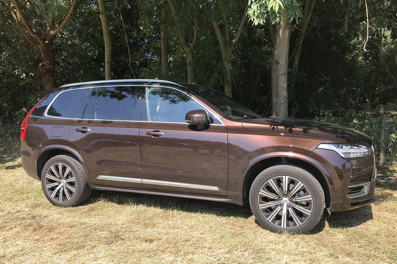 2019 Volvo XC90 LT super brown