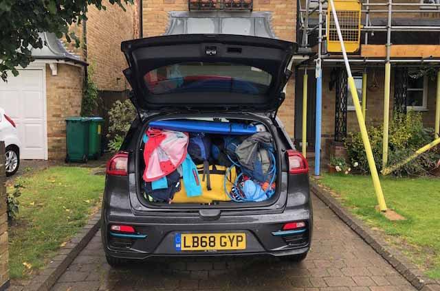 Kia e-Niro boot capacity
