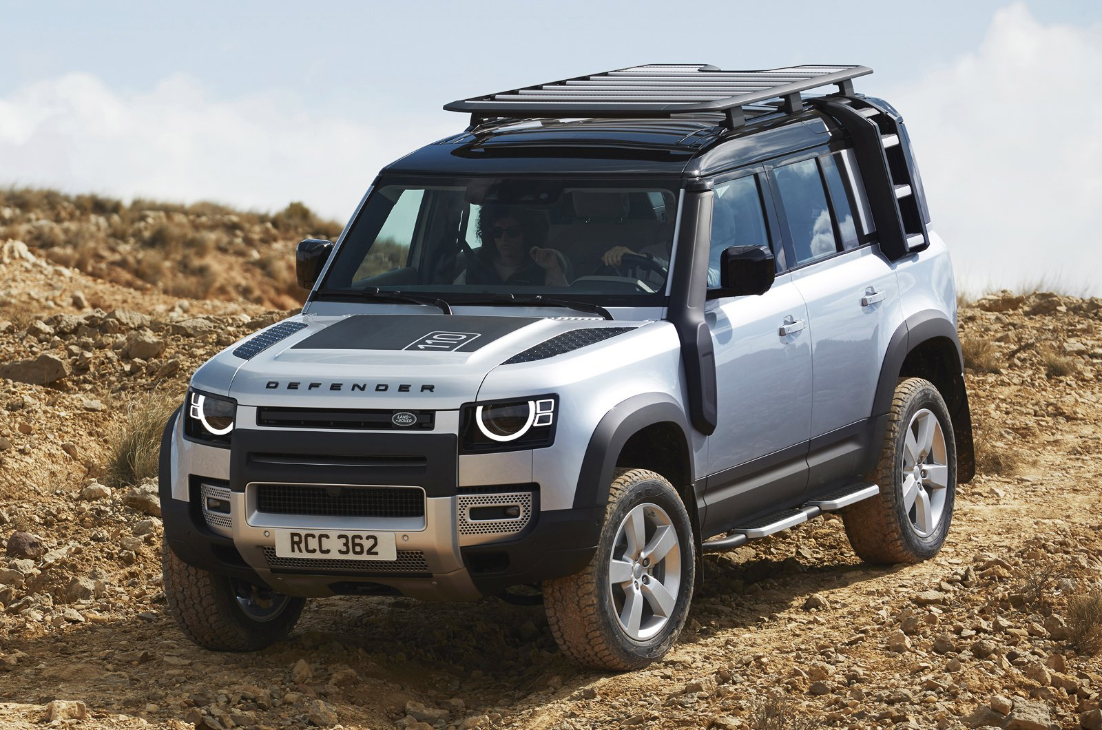 2020 Land Rover Defender 110 front