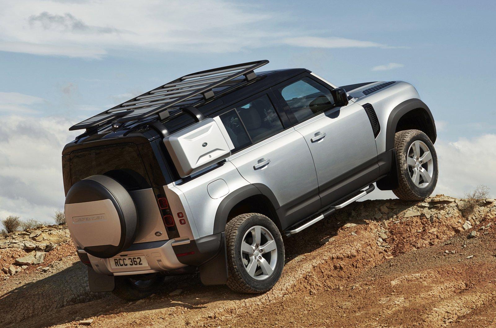 2020 Land Rover Defender 110 rear