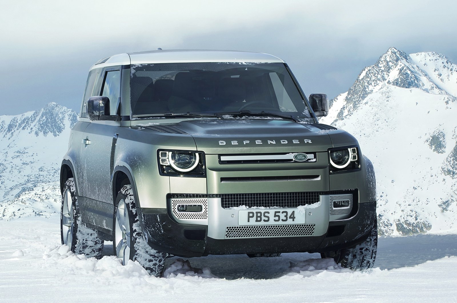 2020 Land Rover Defender 90 front