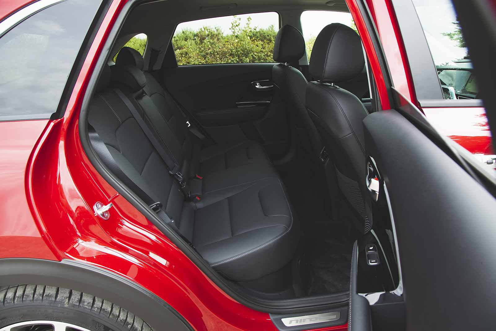 Kia Niro 2019 RHD rear seats