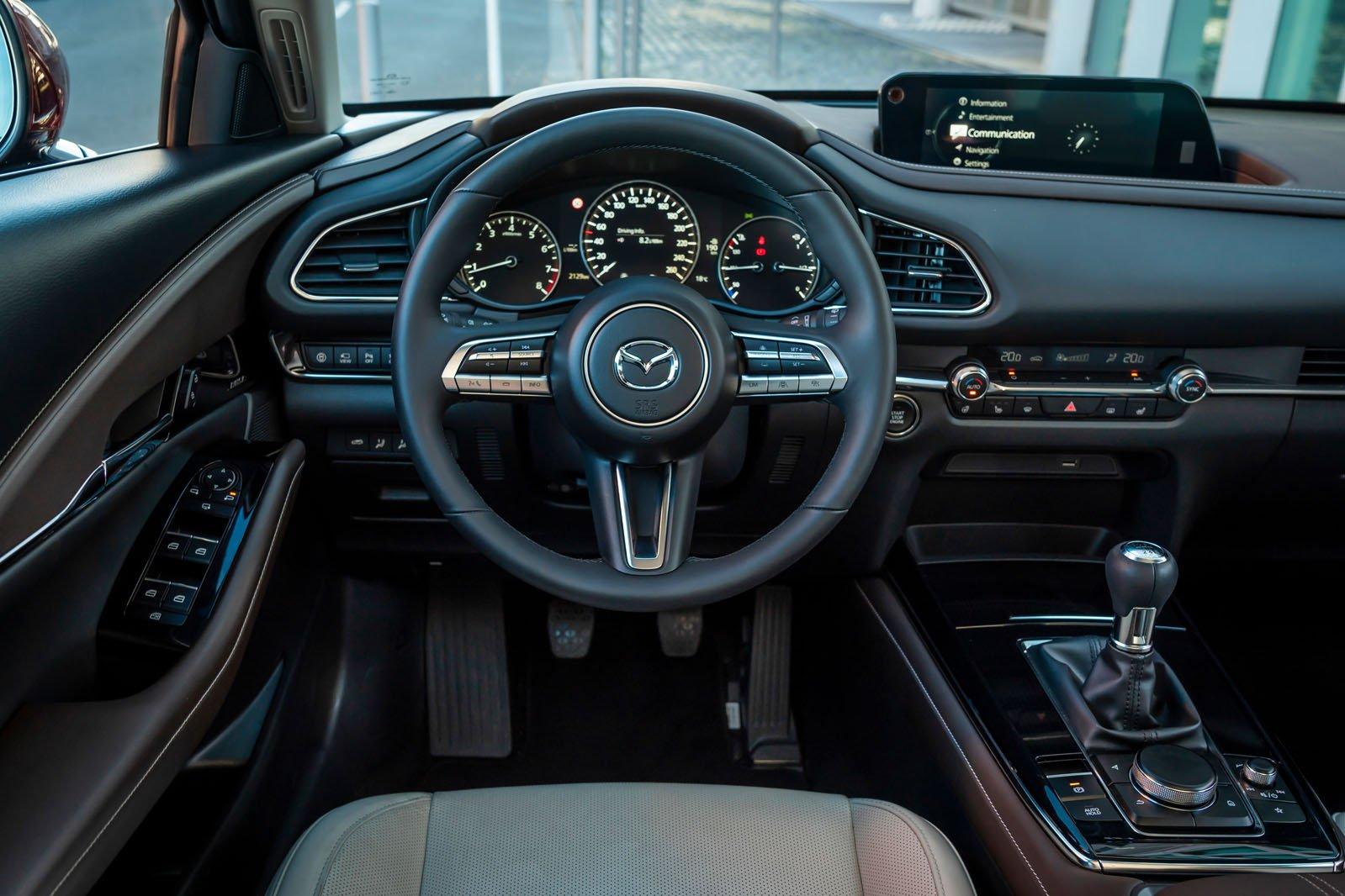Mazda CX-30 2019 LHD dashboard