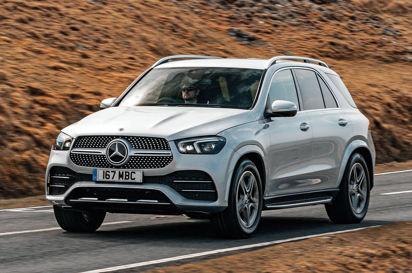 Mercedes GLE front pan