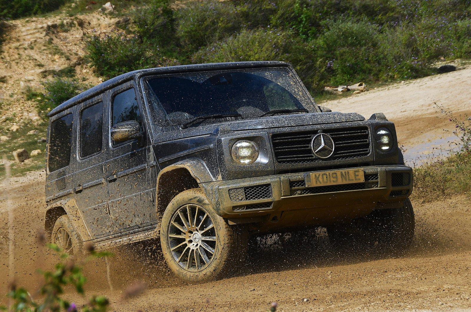 Mercedes G-Class off road