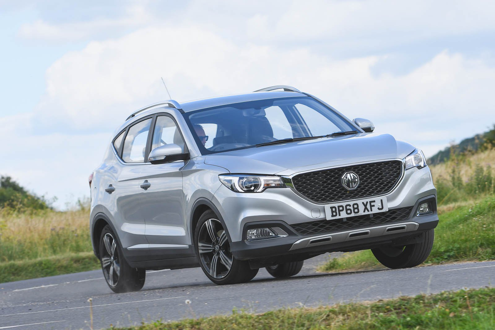 MG ZS driving