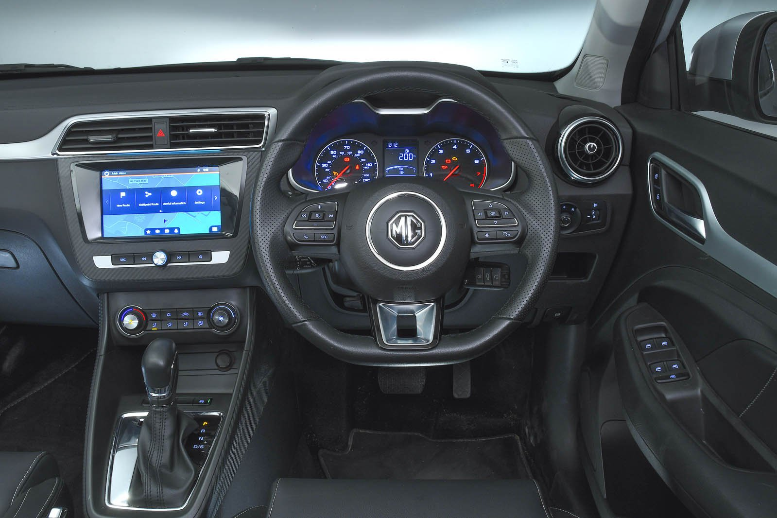 MG ZS interior