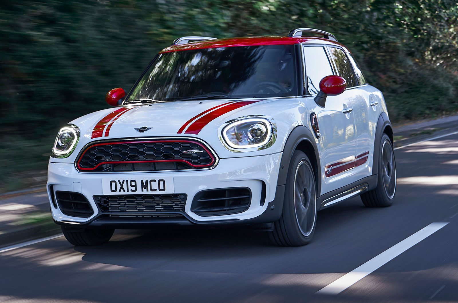 Mini Countryman JCW front