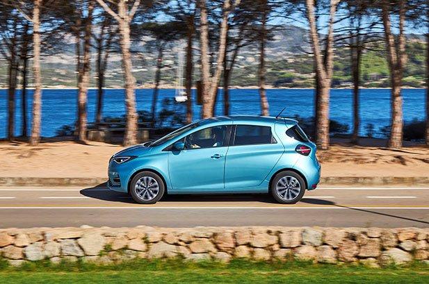2020 Renault Zoe interior