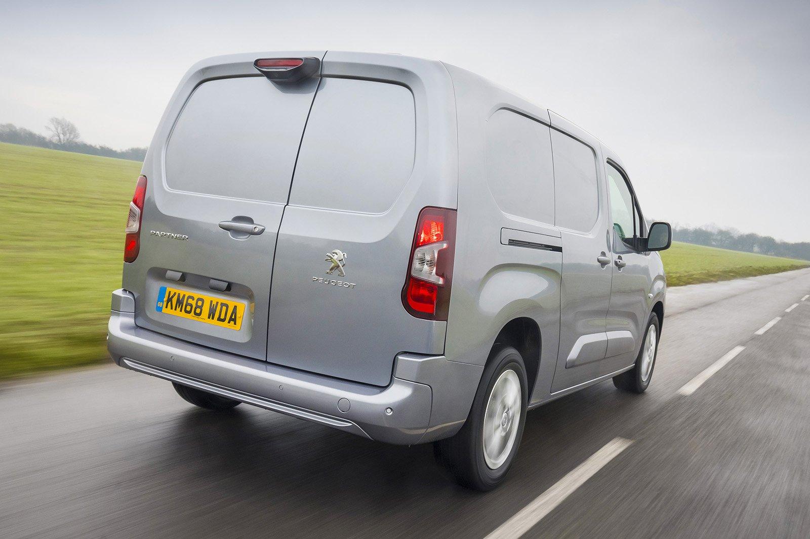 Peugeot Partner rear