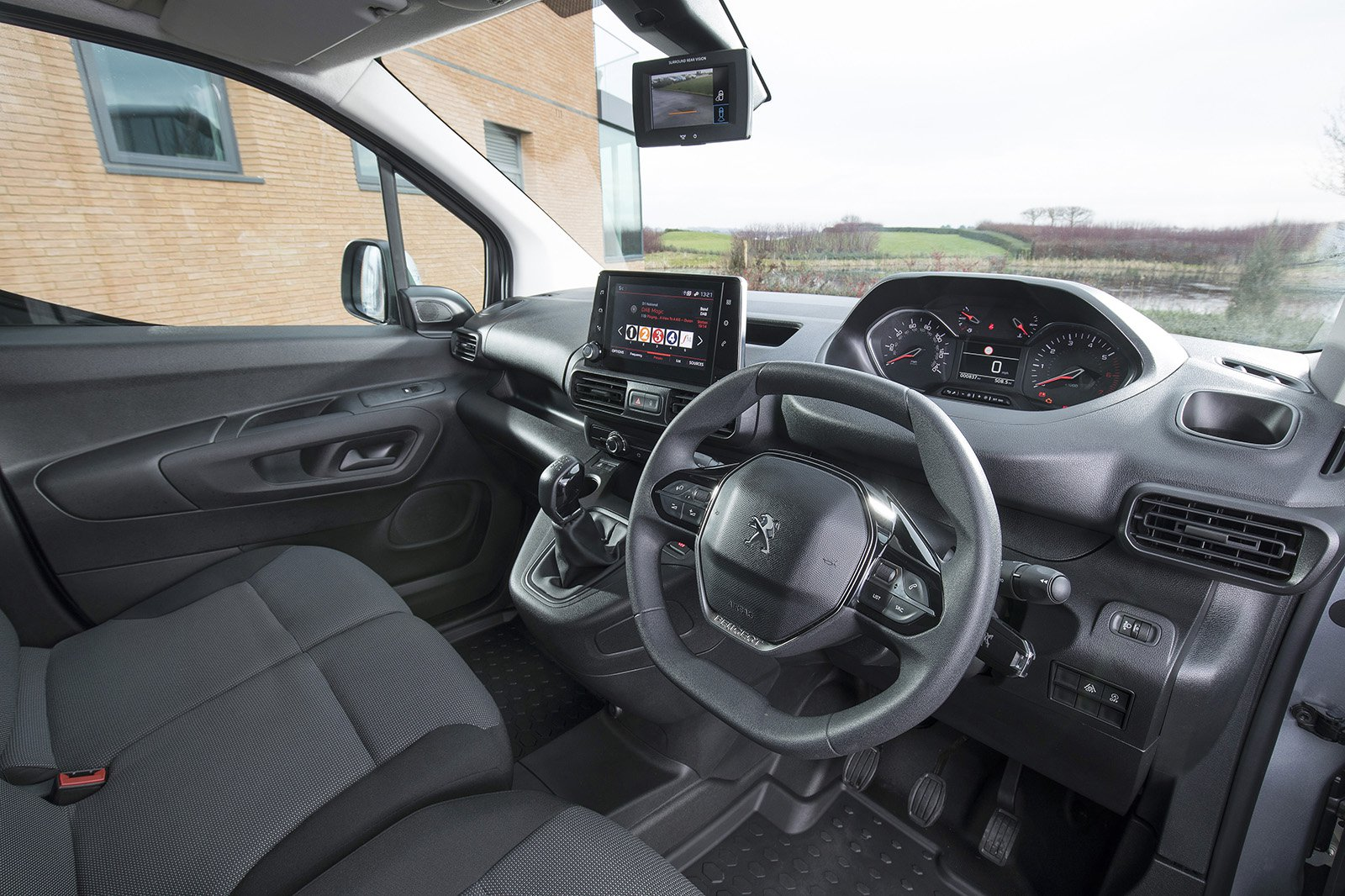 Peugeot Partner interior