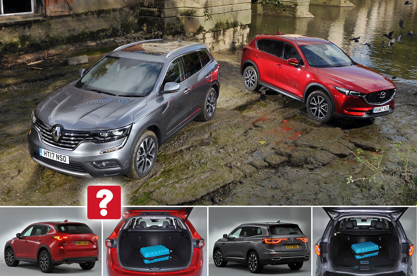 Used test: Renault Koleos vs Mazda CX-5