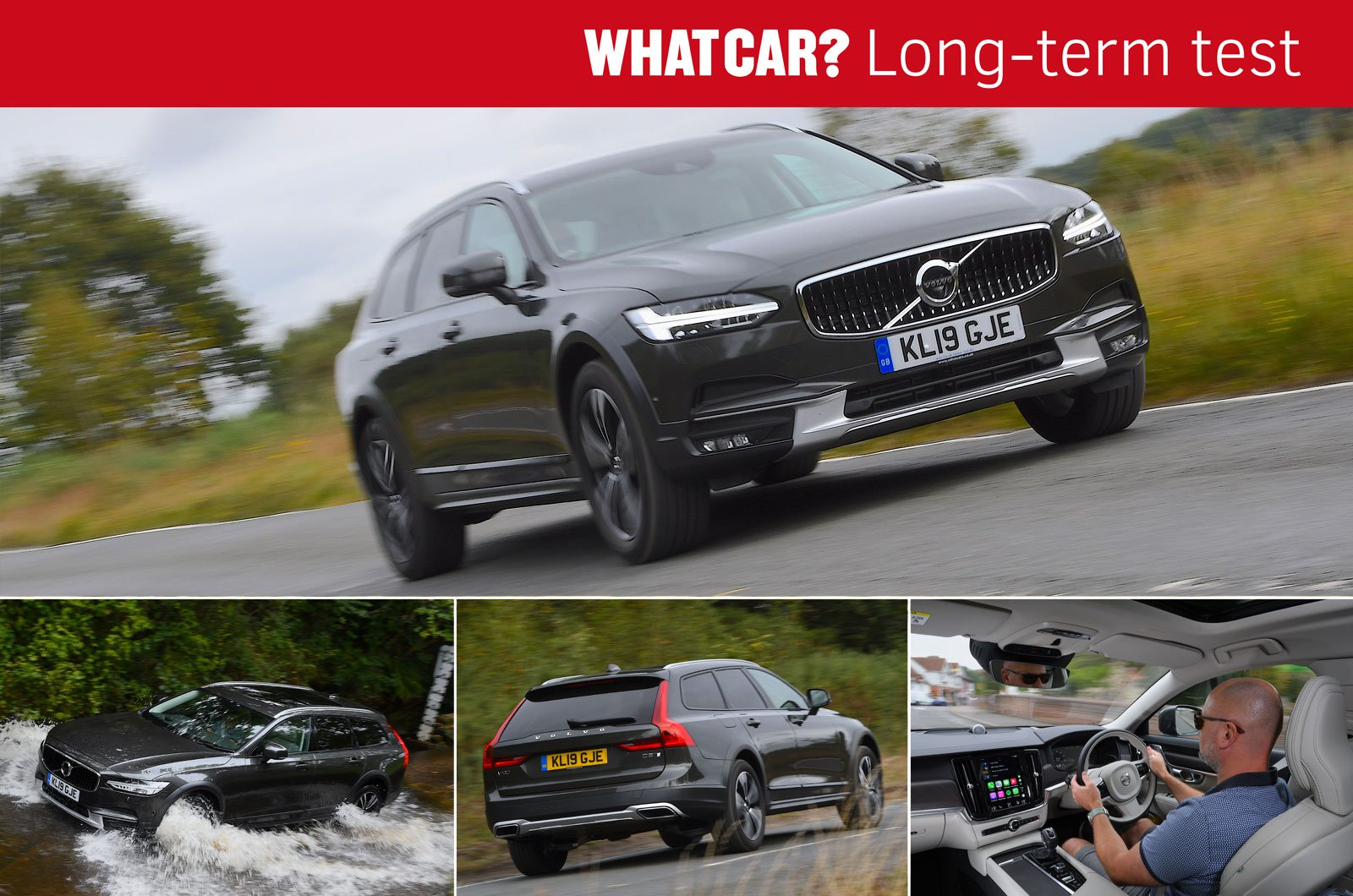 Volvo V90 Cross Country montage