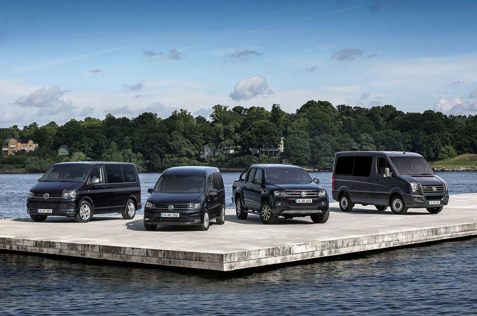 Volkswagen Amarok, Transporter, Caddy and Crafter