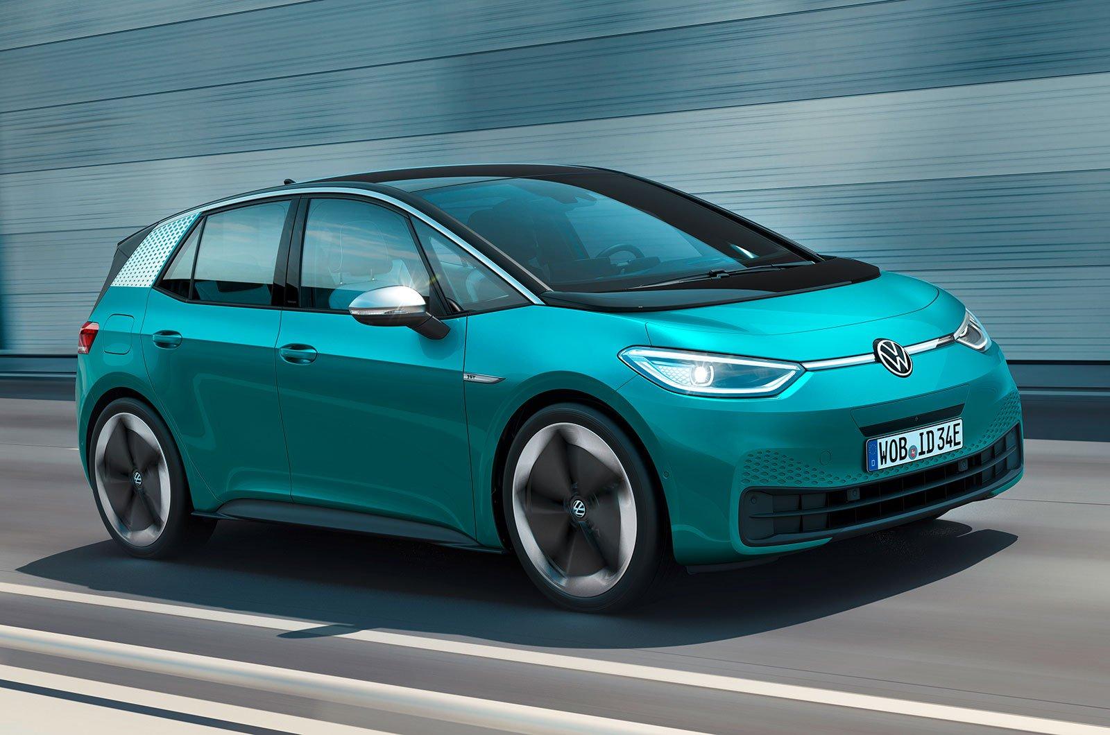 2020 Volkswagen ID 3 front