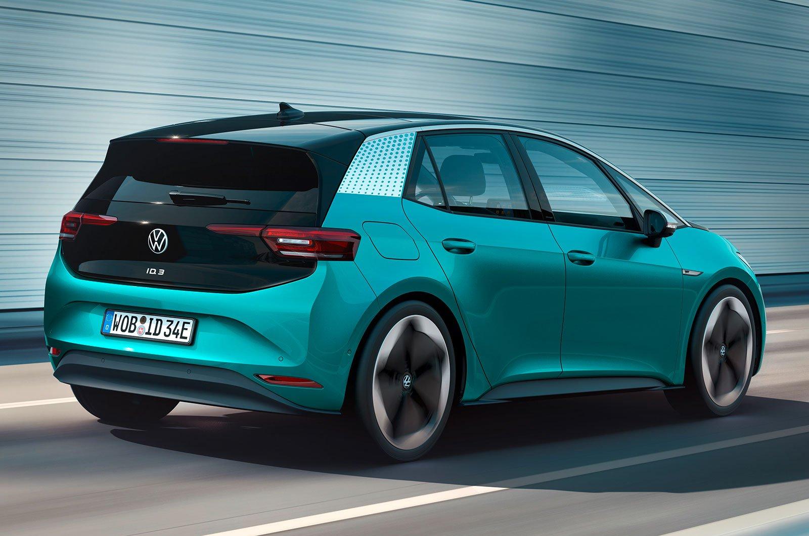 2020 Volkswagen ID 3 rear